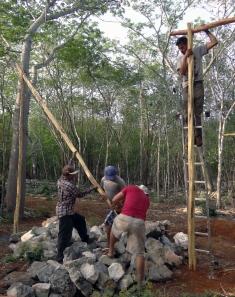 Colocación de trabe (BALO en Maya)