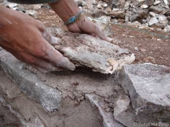 Mampostería de piedra caliza