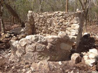 Construcción de cisterna para el baño compostero